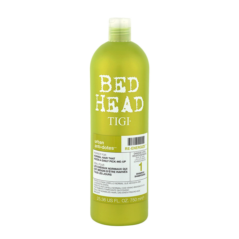 Tigi Urban Antidotes Re-Energize Shampoo 750ml