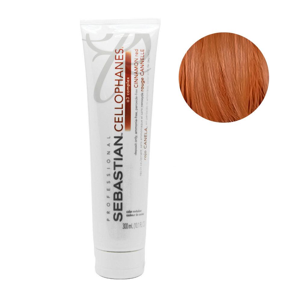 Sebastian Cellophanes Cinnamon red Reflektierende Maske 300ml