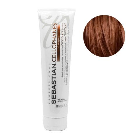 Sebastian Cellophanes Chocolate Brown  Reflektierende Maske 300ml