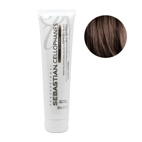 Sebastian Cellophanes Espresso Brown Reflektierende Maske 300ml