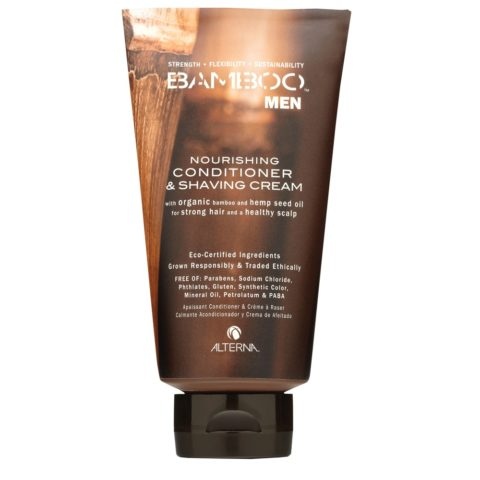 Alterna Bamboo Men Nourishing conditioner & shaving cream 250ml