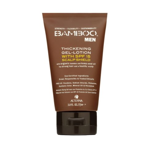 Alterna Bamboo Men Thickening Gel lotion with SPF 15 Shield 75ml