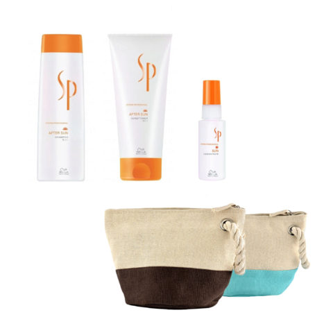 Wella System Professional After sun kit shampoo 250ml   conditioner 200ml   concentrate 50ml   gratis beutel