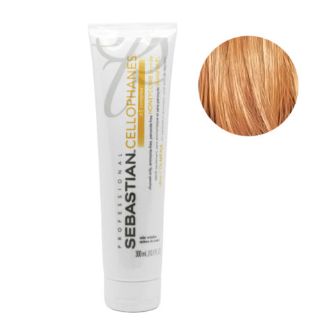 Sebastian Cellophanes Honeycomb blond Reflektierende Maske 300ml