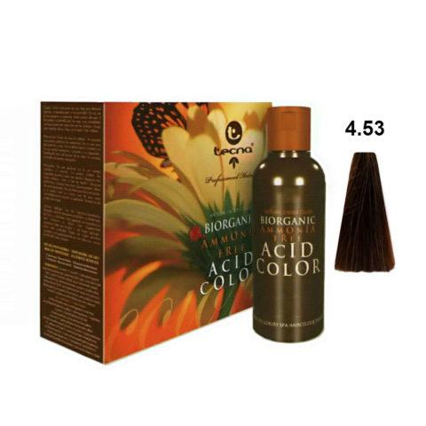 4.53 Mittelbraun wood intensiv Tecna NCC Biorganic acid color 3x130ml