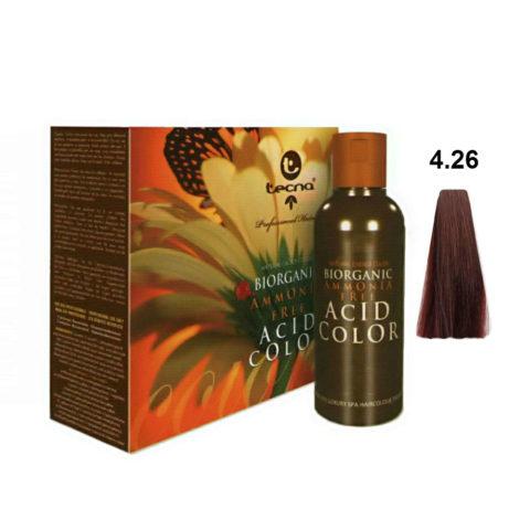 4.26 Braun rot irisierende Tecna NCC Biorganic acid color 3x130ml