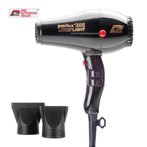 Parlux 385 Powerlight Ionic & Ceramic Schwarz