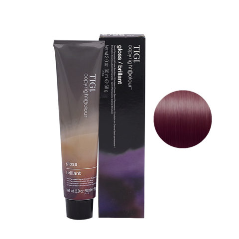 5/26 Hellbraun Violett Rot Tigi Gloss 60ml