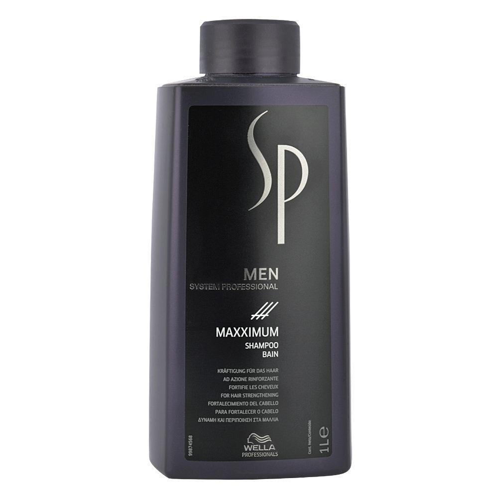Wella SP Men Maxximum Shampoo 1000ml - anti-haarausfall