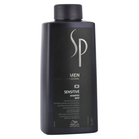 Wella SP Men Sensitive Shampoo 1000ml - linderndes Shampoo