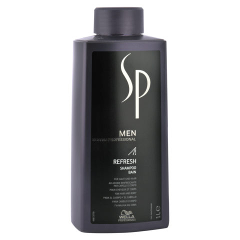 Wella System Professional Men Refresh Shampoo 1000ml
