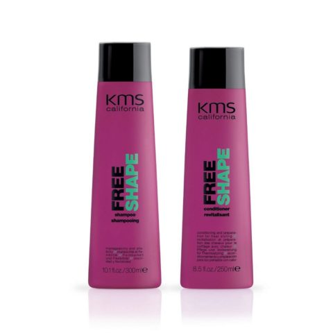 Kms california Kit1 Freeshape Shampoo 300ml Conditioner 250ml