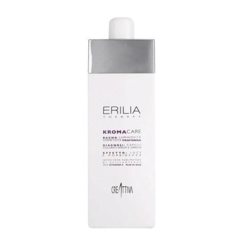 Erilia Kroma Care Bagno Luminosità Cosmeticità Profonda 750ml - Shampoo für gefärbtes Haar