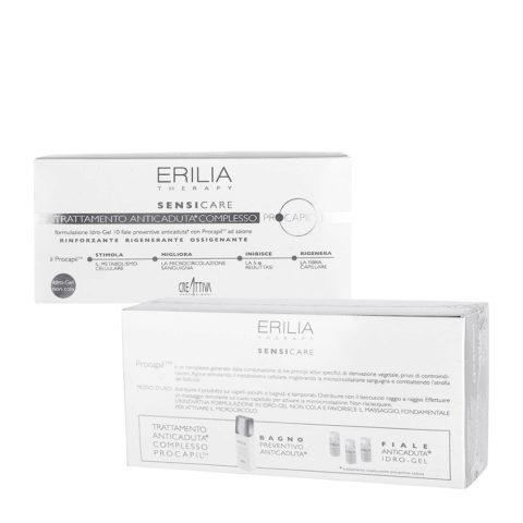Erilia Sensicare Procapil Anti-Haarfall vorbeugende Behanldung Ampullen 10x8ml