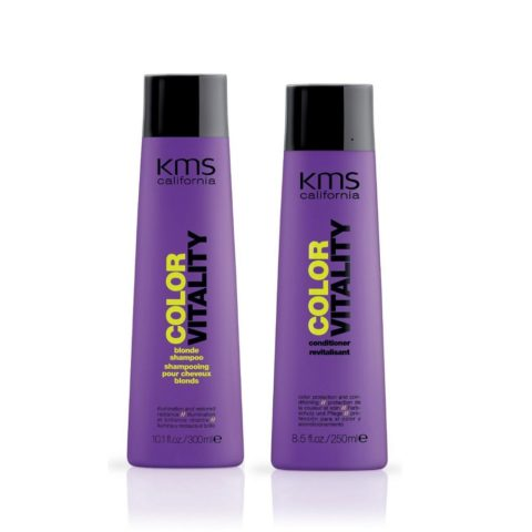 Kms california Kit2 Colorvitality Blonde Shampoo 300ml Conditioner 250ml