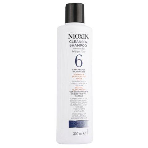 Nioxin Sistema6 Shampoo cleanser 300ml