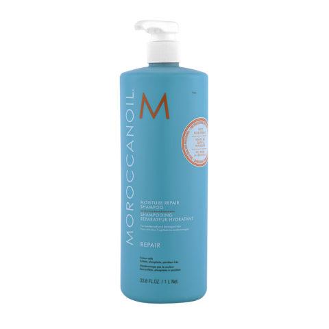 Moroccanoil Moisture repair shampoo 1000ml - Regenerierendes shampoo