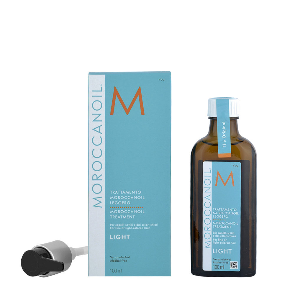 Moroccanoil Oil treatment light 100ml - Behandlung light fur feines und helles haar