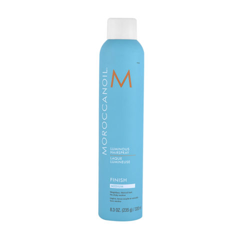 Moroccanoil Luminous Hairspray Finish Medium 330ml - luminoses haarspray medium