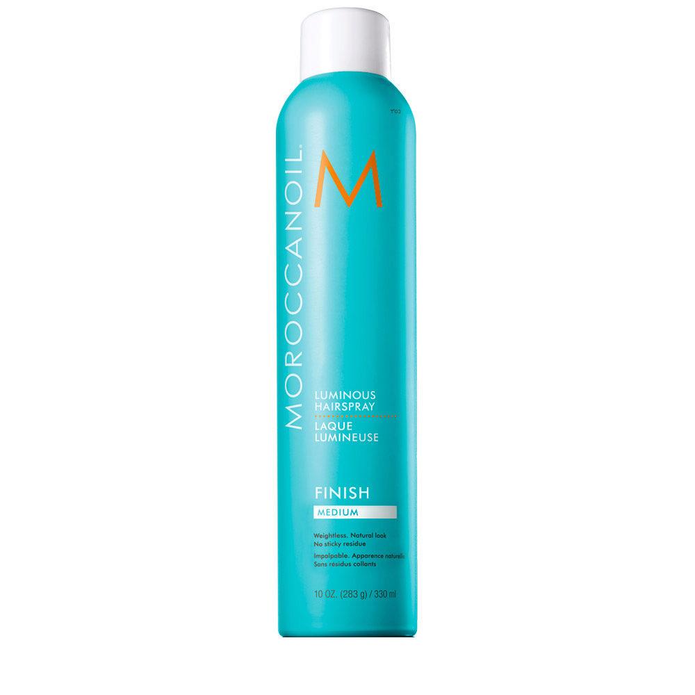 Moroccanoil Luminous Hairspray Finish Medium 330ml - luminoses haarspray medium