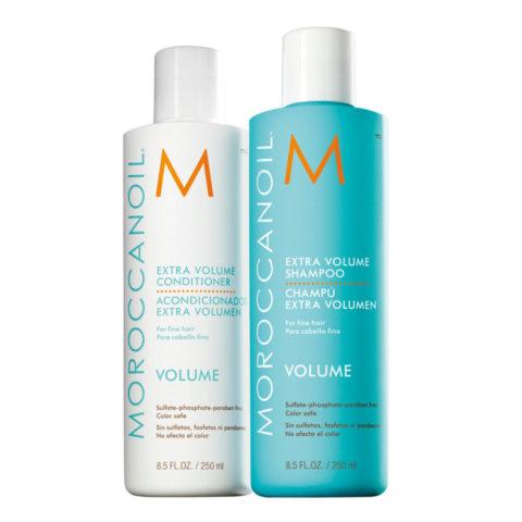Moroccanoil Kit1 Extra volume shampoo 250ml Extra volume conditioner 250ml