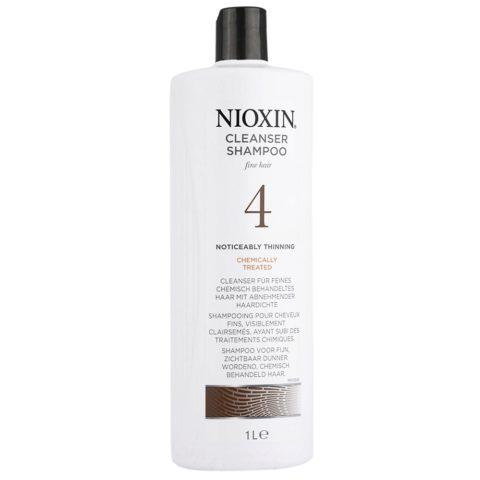 Nioxin Sistema4 Shampoo cleanser 1000ml