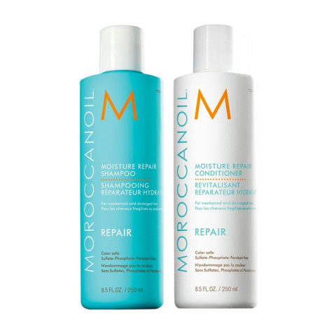 Moroccanoil Kit5 Moisture repair shampoo e Conditioner 250ml