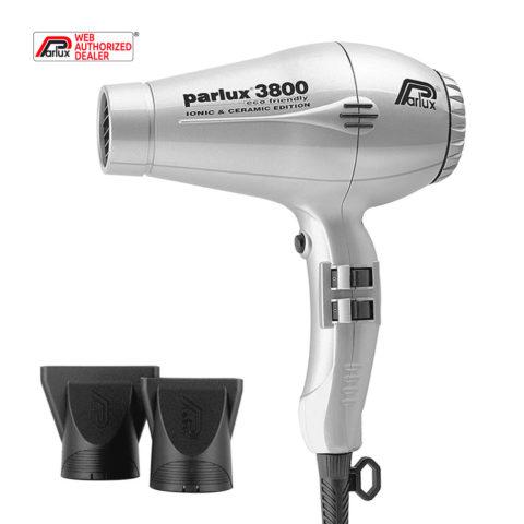 Parlux 3800 Eco Friendly Ionic & Ceramic Argento