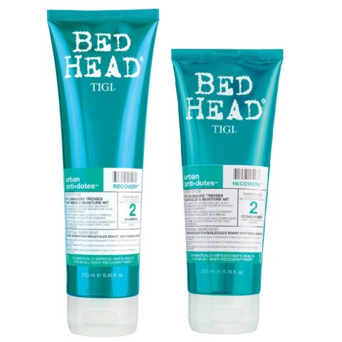 Tigi Urban Antidotes Kit Recovery Conditioner 200ml Shampoo 250ml