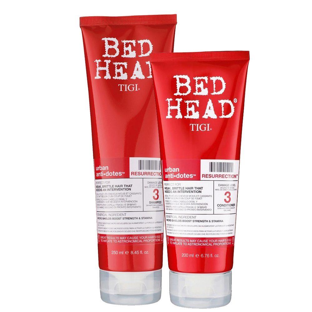 Tigi Urban Antidotes Kit Resurrection Shampoo 250ml Conditioner 200ml