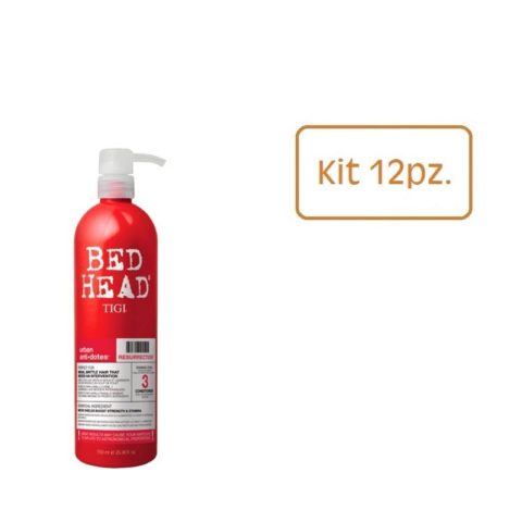 Tigi Urban Antidotes Kit 12 Pezzi Resurrection Conditioner 750ml