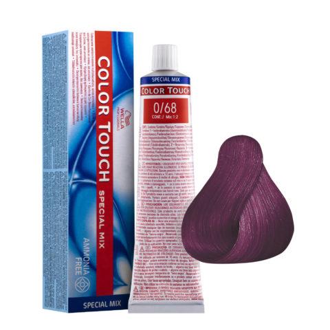 0/68 Viola Bluette Wella Color Touch ammoniakfrei - Violett-perl