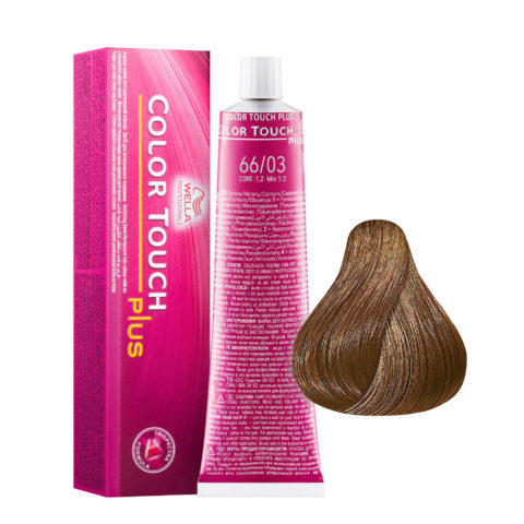 66/03 Dunkelblond intensiv natur-gold Wella Color touch Plus Ammoniakfrei 60ml