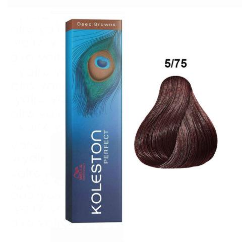5/75 Hellbraun braun-mahagoni Wella Koleston Perfect Deep browns 60ml