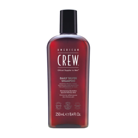 American crew Classic Gray shampoo 250ml - Shampoo zur Pflege grauer Haare