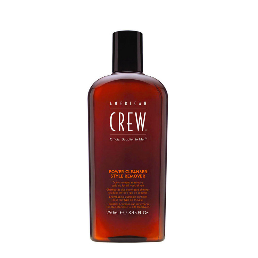 American crew Power cleanser style remover shampoo 250ml - tägliches Shampoo