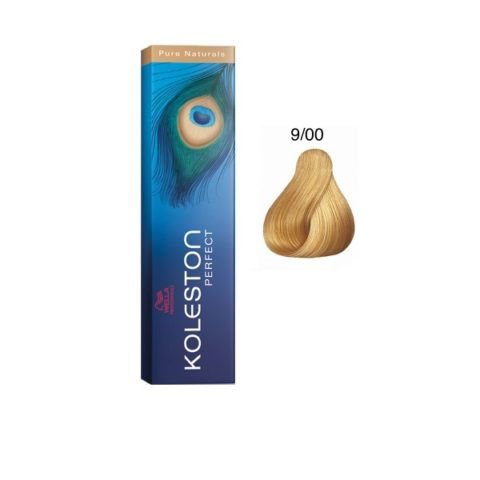 9/00 Lichtblond natur Wella Koleston Perfect Pure Naturals 60ml