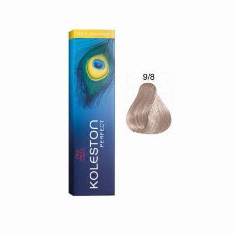 9/8 Lichtblond perl Wella Koleston Perfect Rich Naturals 60ml