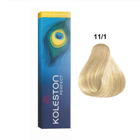 11/1 Biondo Extra Platino Cenere Wella Koleston Perfect extra-lichtblond asch