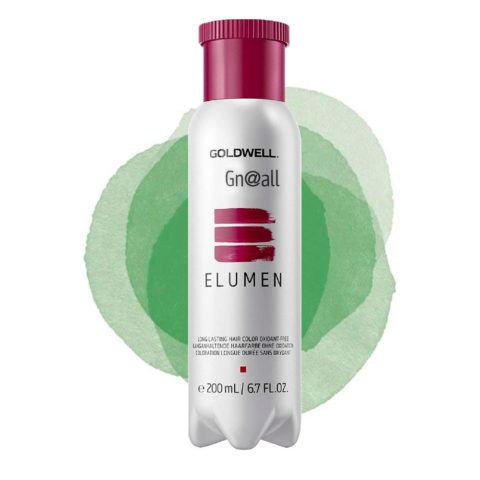 Goldwell Elumen Pure GN@ALL verde 200ml - grün