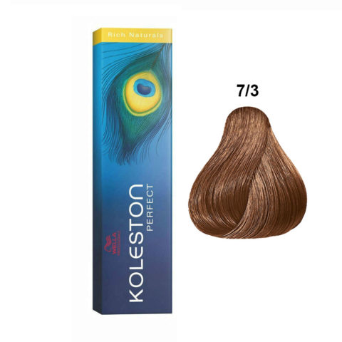 7/3 Gold-mittelblond Wella Koleston Perfect Rich naturals 60ml