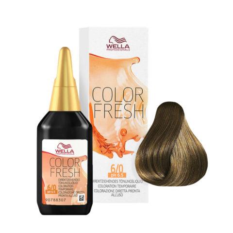 6/0 Dunkelblond Wella Color fresh 75ml