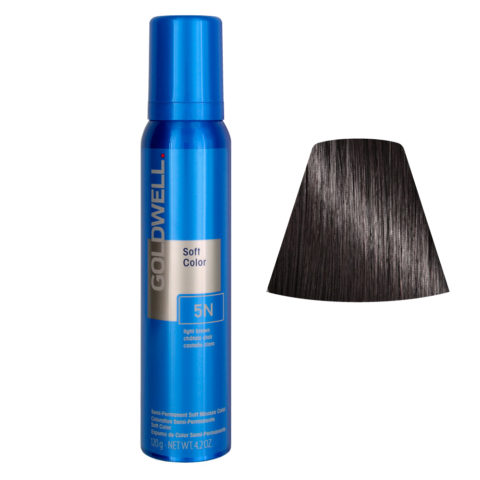 Goldwell Colorance soft color / Pflegende Schaumtönung 5N Light Brown 125ml