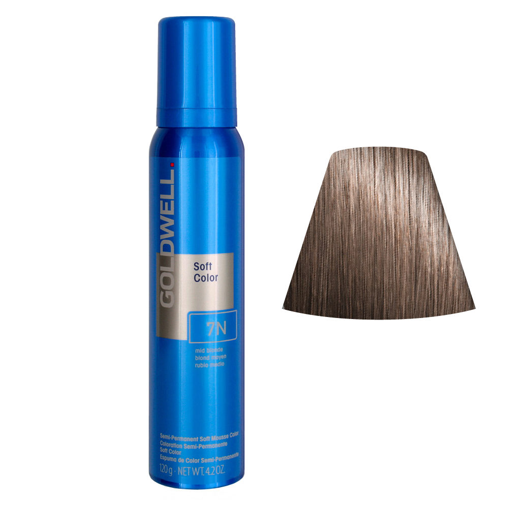 Goldwell Colorance soft color Pflegende Schaumtönung 7N Mid Blonde 125ml