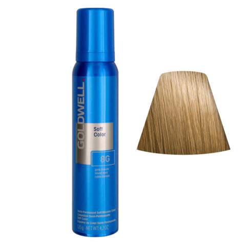 Goldwell Colorance soft color Schaumtönung 8G Blondes Gold 125ml