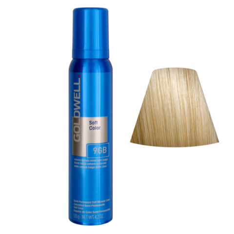 Goldwell Colorance soft color Schiuma colorante 9GB Sahara Blonde Extra Light Beige 125ml