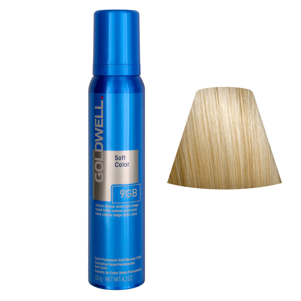 Goldwell Colorance soft color Pflegende Schaumtönung 9GB Sahara Blonde Extra Light Beige 125ml