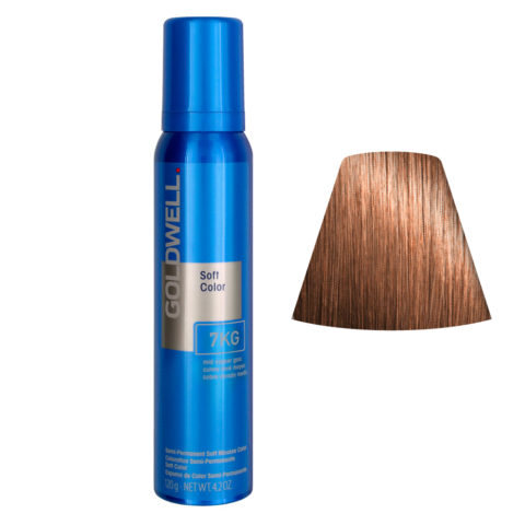 Goldwell Colorance soft color / Pflegende Schaumtönung 7KG Mid Goldkupfer 125ml