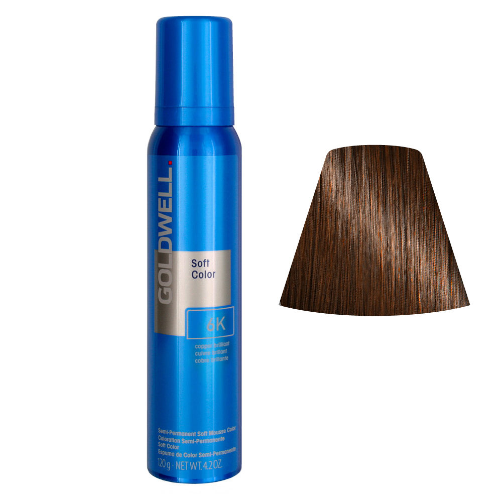 Goldwell Colorance soft color Pflegende Schaumtönung 6K Copper Brilliant 125ml
