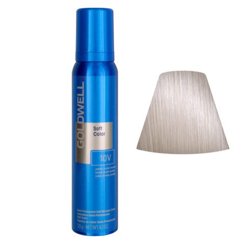 Goldwell Colorance soft color Schiuma colorante 10V Pastel Violet Blonde 125ml